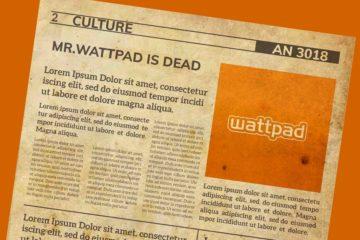 M.Wattpad est mort Image de freepik